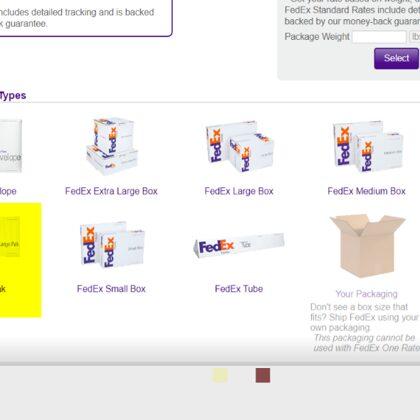 Fedex Pak One rate $88